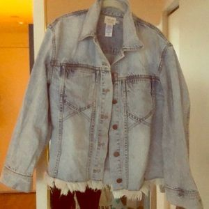 A+O denim jacket *in store*